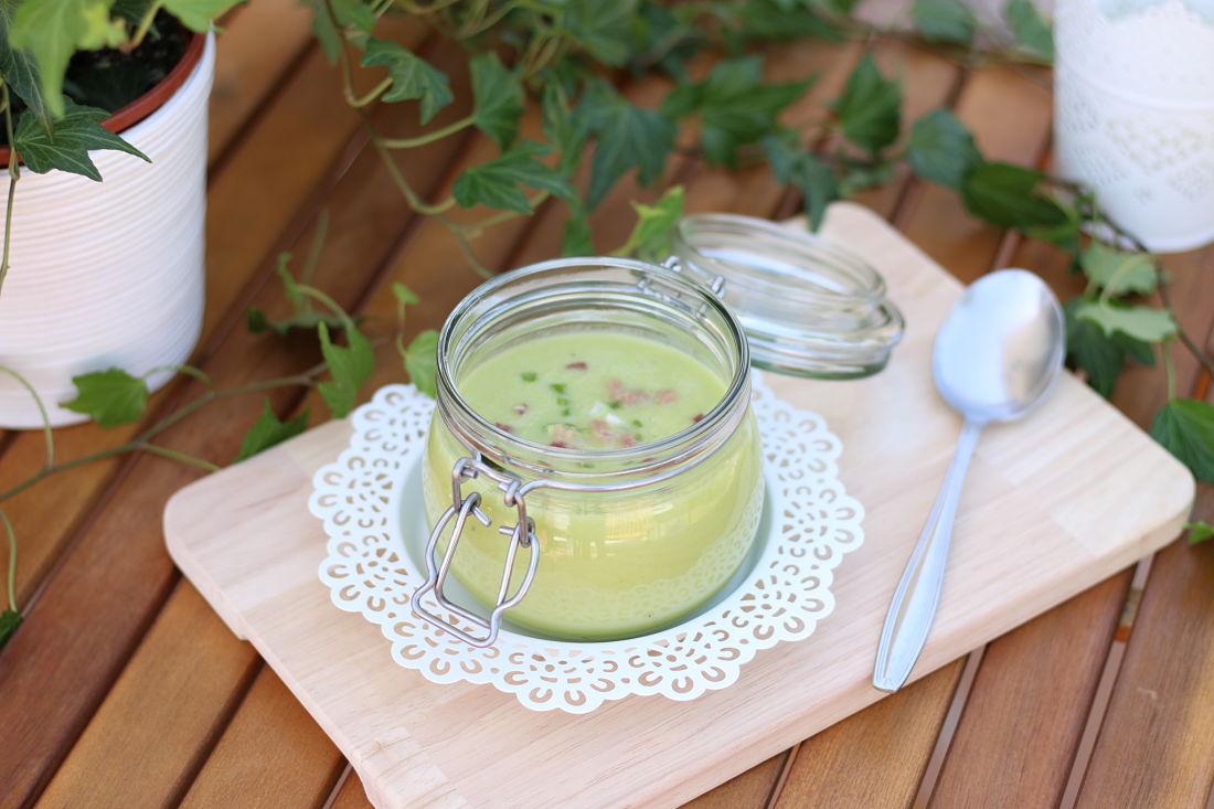 Gazpacho saludable de pepino
