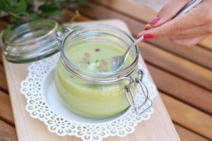 Gazpacho de calabacin