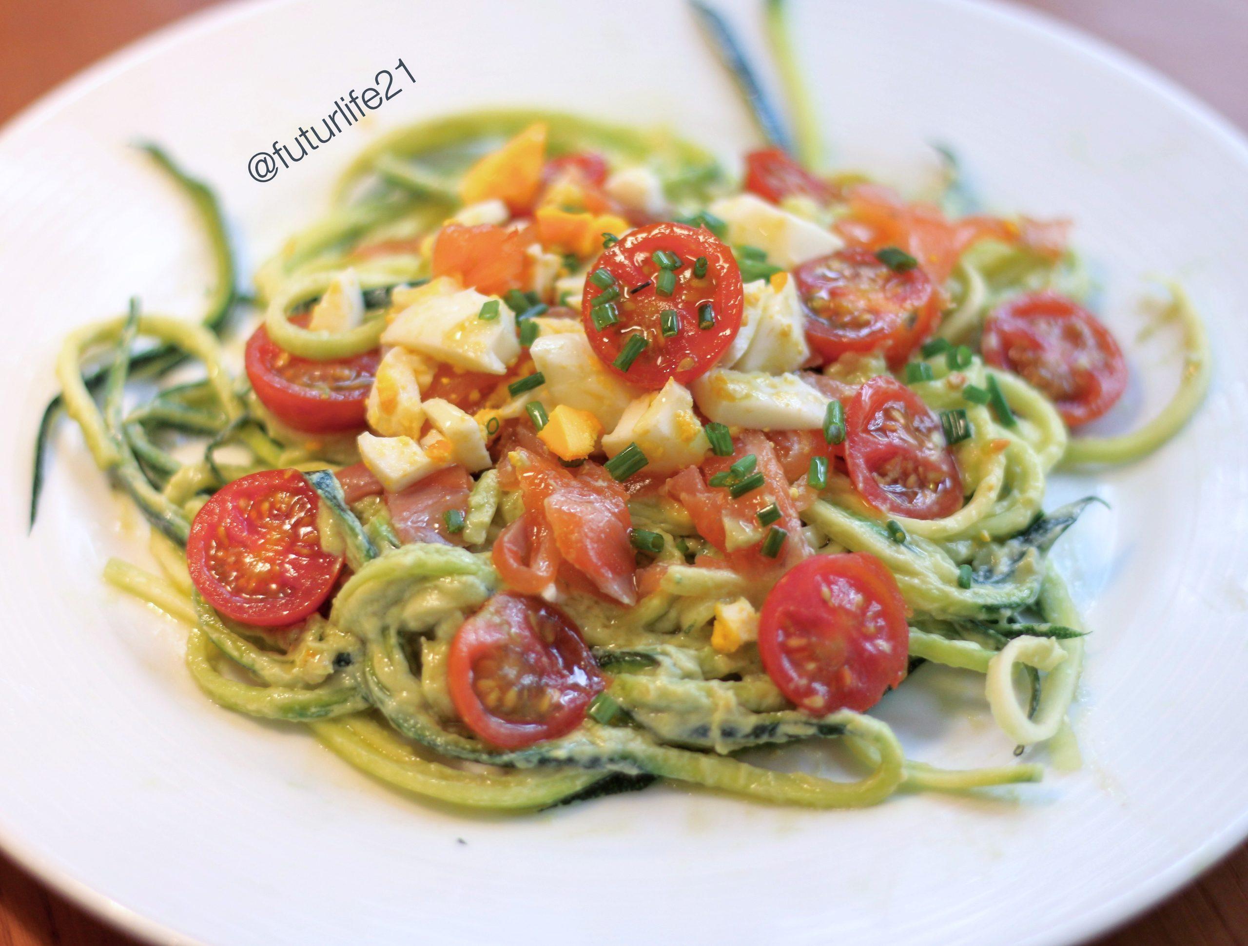 espaguetis de calabacin