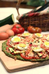 pizza de kale